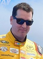 Kyle Busch, finished 5 points behind Jimmie Johnson in third place