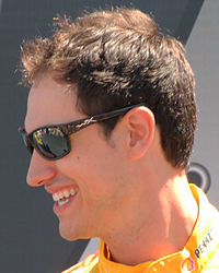 Joey Logano, finished 4 points behind Jimmie Johnson in second place