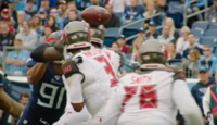 Winston committing one of his 35 turnovers during the 2019 season