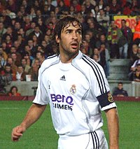 Raúl is Real Madrid's all-time leader in appearances.