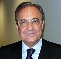 Spanish businessman Florentino Pérez is the current president of the club.