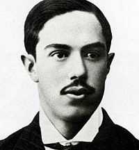 Julián Palacios, the first president of the club in 1900–1902