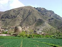 Many stupas, such as the Shingerdar stupa in Ghalegay, are scattered throughout the region near Peshawar.