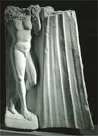 A sculpture from Hadda, (3rd century)