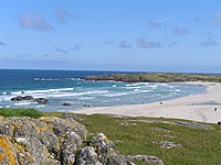 Tiree in the Inner Hebrides is one of the sunniest locations in Scotland