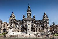 Glasgow City Chambers, seat of Glasgow City Council