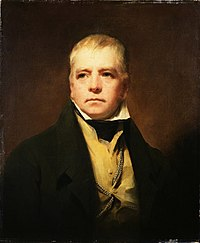 Walter Scott, whose Waverley Novels helped define Scottish identity in the 19th century