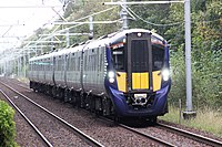 Domestic rail services are operated by Abellio ScotRail.