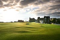 The Old Course at St Andrews where golf originates from