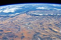 Panoramic view of the southwestern United States