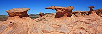 Little Finland in Gold Butte National Monument, Nevada