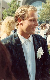 Harrelson on the red carpet at the 40th Annual Primetime Emmy Awards, August 1988