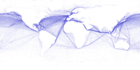 Major ocean trade routes in the world includes the northern Indian Ocean.