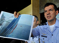 Lt. Col. Henry Munhoz describes the recovery of Airbus A330 wreckage from the ocean.
