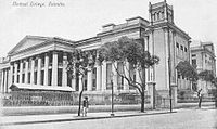 The University of Calcutta, established in 1857, is one of the three oldest modern state universities in India.