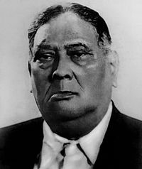 A. K. Fazlul Huq, known as the Sher-e-Bangla or Tiger of Bengal, was the first elected Premier of Bengal, leader of the K. P. P. and an important ally of the All India Muslim League.