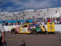 Sadler's 2006 No. 38 RYR car at Phoenix