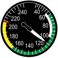 The airspeed indicator is often used to indirectly predict stall conditions.