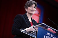 Ernst speaking at the 2015 Conservative Political Action Conference