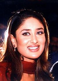 Kapoor at the book launch of Kabhi Khushi Kabhie Gham... in 2001. Bollywood Hungama reported that the success of the film proved a breakthrough for her.
