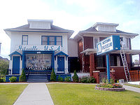 The Hitsville U.S.A. Motown building, at 2648 West Grand Boulevard in Detroit, Motown's headquarters from 1959 to 1968, which became the Motown Historical Museum in 1985