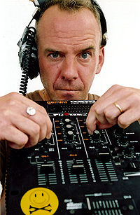 """Fatboy Slim achieved commercial success in the 1990s, with several hits prior to his only number one single, """"Praise You"""" in 1999."""