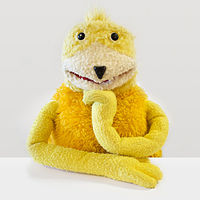 """In 1999 an advert for Levi jeans featuring the puppet Flat Eric helped take Mr. Oizo's track """"Flat Beat"""" to number one, holding off Eminem's debut single."""