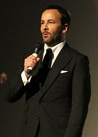 Tom Ford, American fashion designer and filmmaker; former creative director at Gucci and Yves Saint Laurent; CAS (dropped out)