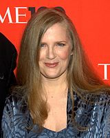 Suzanne Collins, American television writer and author; Author of The New York Times best-selling series The Underland Chronicles and The Hunger Games trilogy; Tisch '89