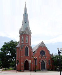 St. Andrew's Episcopal Church, built in 1887, is one of Jacksonville's oldest churches.