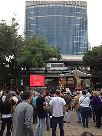 Hemming Park hosts a variety of cultural events throughout the year.