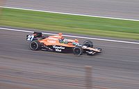 Franchitti en route to winning the 2007 Indianapolis 500