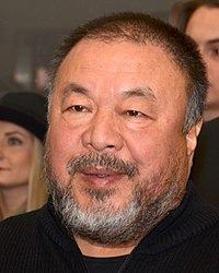 Ai Weiwei Chinese contemporary artist, activist and architect