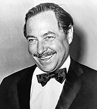 Tennessee Williams two-time Pulitzer and three-time Tony Award-winning playwright