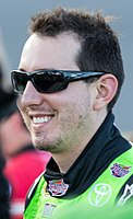 Kyle Busch won the pole position with a time of 27.509 and won the race