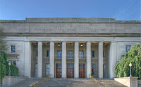 Walker Memorial is a monument to MIT's fourth president, Francis Amasa Walker