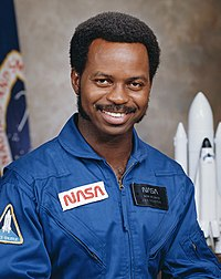 Space Shuttle Challenger astronaut and physicist Ronald McNair, PhD 1976 (MIT Department of Physics)