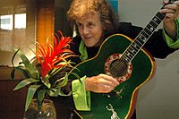 Donovan before a show in Washington, D.C., on 10 August 2007.