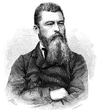 Ludwig Feuerbach's The Essence of Christianity (1841) would greatly influence philosophers such as Engels, Marx, David Strauss, Nietzsche, and Max Stirner. He considered God to be a human invention and religious activities to be wish-fulfillment. For this he is considered the founding father of modern anthropology of religion.