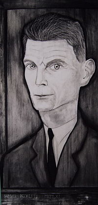 Portrait of Samuel Beckett by Reginald Gray, painted in Paris, 1961 (from the collection of Ken White, Dublin).