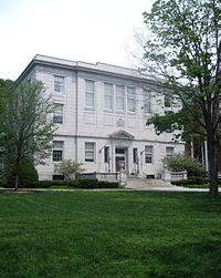 The Vermont Supreme Court's building in Montpelier