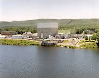 The Vermont Yankee Nuclear Power Plant, in Vernon