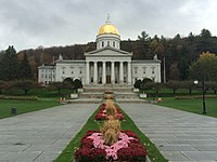 State House in Montpelier—Vermont's capital city