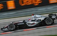 Räikkönen at the 2005 United States Grand Prix.