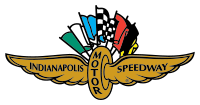 The IMS wing and wheel logo has been used since 1909. This variation was used from the 1960s through 2008.