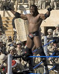 Booker at Tribute to the Troops