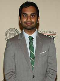 Aziz Ansari at the 71st Annual Peabody Awards Luncheon in 2012
