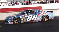 Spencer's No. 88 race car in 1989.