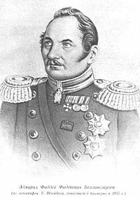 Admiral Fabian Gottlieb von Bellingshausen was one of the first to spot the continent of Antarctica.