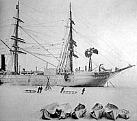 RRS Discovery carried an expedition led by Robert Falcon Scott in 1901.
